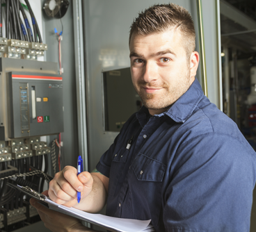 Residential & Commercial Electrician Lake Orion MI | Triple H Electric - image-h3-box-technician
